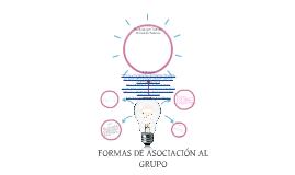 formas de asociación al grupo