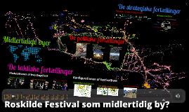 Roskilde Festival som midlertidige by?