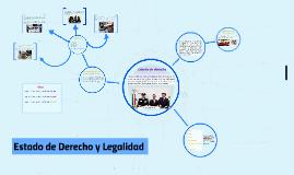Estado de Derecho y Legalidad