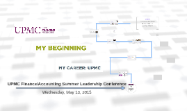 UPMC Finance/Accounting Summer Leadership Conference