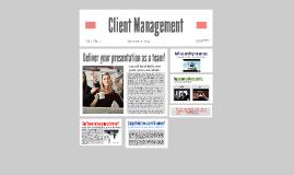 Client Management