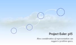 Project Euler: p15