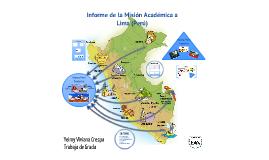 Informe de Sistematización Misión Perú