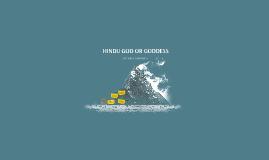 HINDU GOD OR GODDESS