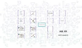 ASL 101 Unit 2 Lesson 2:1