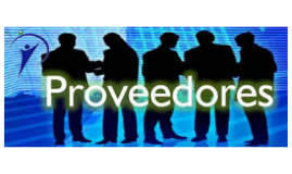 PROVEEDORES Y TIPOS