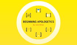 Beginning Apologetics