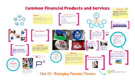 Common Financial Products and Services