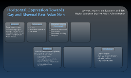 Horizontal Oppression Towards Gay and Bisexual East Asian Men