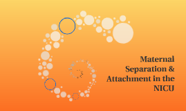 Maternal Separation & Attachment in the NICU