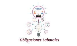 Obligaciones Laborales