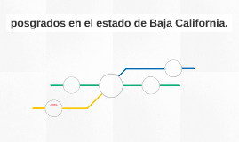 maestrias y doctorados en el estado de Baja California.