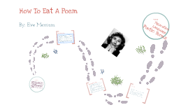 Copy of To Eat a Poem