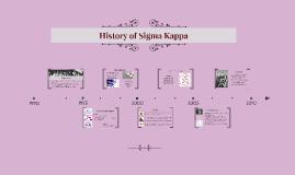 Copy of History of Sigma Kappa