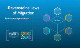 laws of migration by e g Grounding a theory of african migration in recent data on ghana  ravenstein, eg 1885 `the laws of migration' journal of the royal statistical society 48: 167-235.