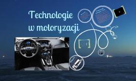 technologie w motoryzacji