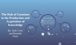 The Role of Emotions in Decision Making