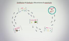 Evidências da Evolução e Mecanismos de especiação
