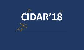 CIDAR'18