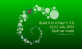 Build It In A Day (green & clean)