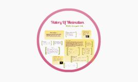 History Of Minimalism