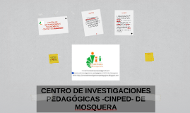 CENTRO DE INVESTIGACIONES PEDAGÓGICAS -CINPED- DE MOSQUERA