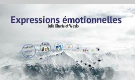 expressions émotionnelles