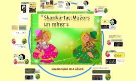 Skaņkārtas: Mazors un minors_3.kl./LI