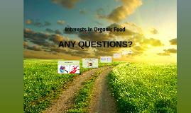 Attitudes Towards Organic Food