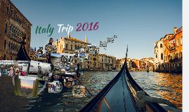 Italy Trip 2016