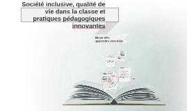 Société inclusive = un projet de recherche
