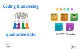 Coding and Analysing Qualitative Data