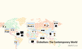 Globalism: The Contemporary World