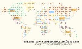 LINEAMIENTOS PARA UNA BUENA SOCIALIZACIÓN EN LA RED