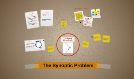Copy of The Synoptic Problem