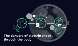 The dangers of an electric shock through the body
