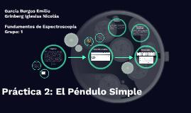 Práctica 2: El Péndulo Simple