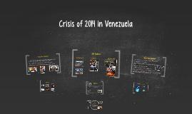 Crisis of 2014 in Venezuela