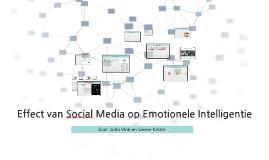 Effect social media op emotionele intelligentie
