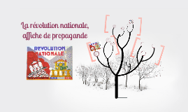 Copy of La révolution nationale, affiche de propagande