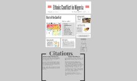 Copy of Ethnic Conflict in Nigeria