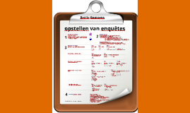 Tips en tricks opstellen enquête