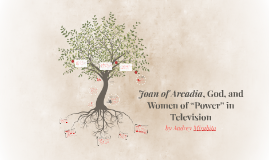 "Joan of Arcadia, God, and Women of ""Power"" in Television"