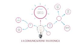 Comunicazione telefonica