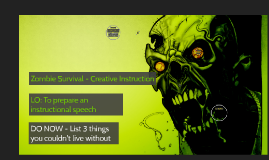 The Zombie Virus Has Been Released!