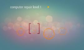 computer repair level