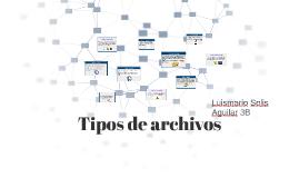 Tipos de archivos y ficheros imformaticos