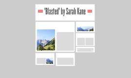 'Blasted' by Sarah Kane