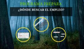 Copy of ¿DÓNDE BUSCAR EL EMPLEO?