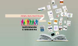 DERECHOS POLÍTICOS Y DE PARTICIPACIÓN CIUDADANA
